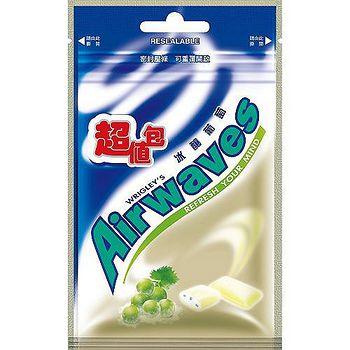 Airwaves無糖口香糖超值包-冰釀葡萄62g