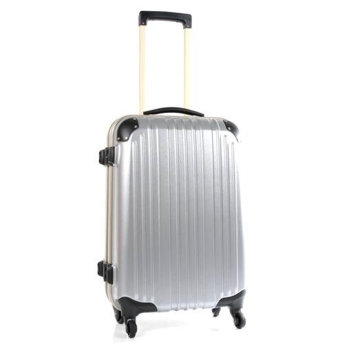 【Commodore 戰車】9809系列27吋TSA霧面防刮旅行箱(銀色)