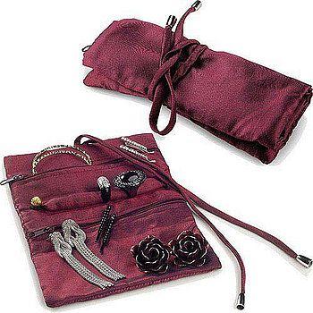 《VOYAGER》懷舊霓裳珠寶袋(紅)