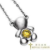 ROYAL DAMON『金黃小熊』項鍊