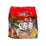 韓國不倒翁海鮮烏龍拉麵120g*5包