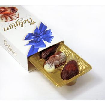 Belgian‧白儷人貝殼巧克力