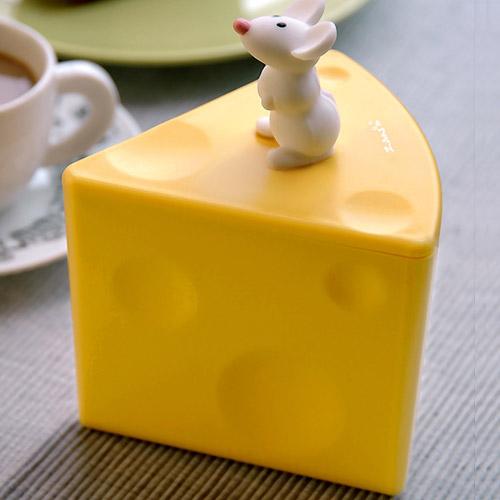 【老鼠與起士】調味料罐  (不透黃)