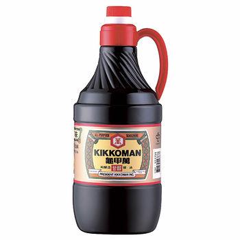 統一龜甲萬甘醇醬油1.6L