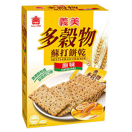 義美多穀物黃金胚芽蘇打餅270g