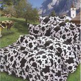 Alice Balen[艾莉絲-貝倫]-健康乳牛雙人特大[四件式]舖棉兩用被+床包組