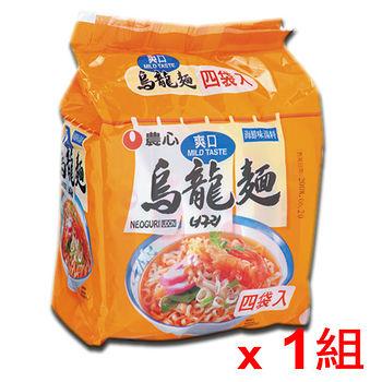韓國農心海鮮烏龍麵*4包