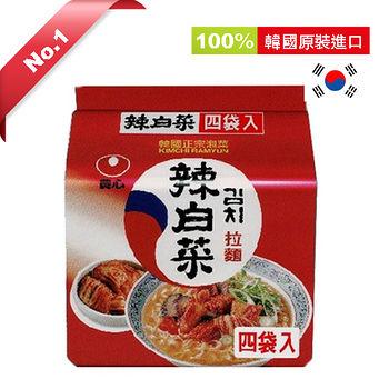 韓國農心辣白菜拉麵*4包