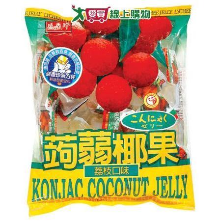 盛香珍蒟蒻椰果果凍-荔枝口味1000g