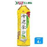 光泉冷泡茶-春釀綠茶(微甜)585mlx4入