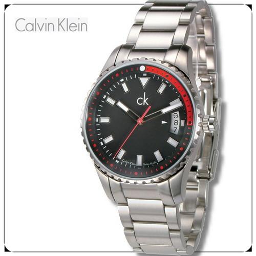 Calvin Klein時尚風運動男錶