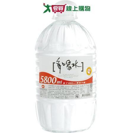 味丹多喝水5800ml