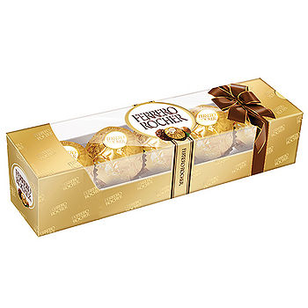 金莎巧克力5粒裝62.5g