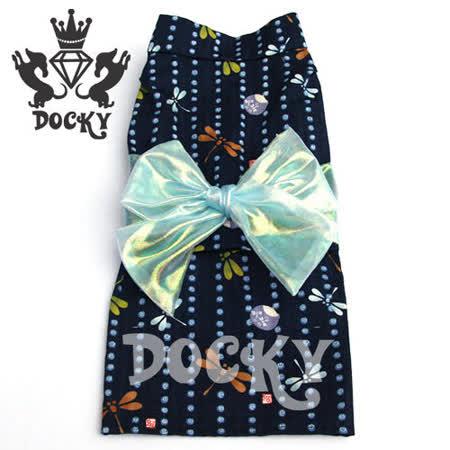 Docky-田園奏鳴曲女浴衣-藍精靈
