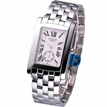 LONGINES 多情經典系列 男用腕錶鋼帶L56554716