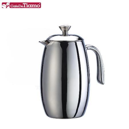 Tiamo 哥倫比亞雙層不鏽鋼濾壓壺-350ml (2杯份) HA1537
