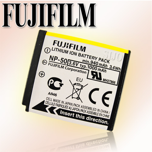 Fujifilm  NP-50 / NP50 ㊣原廠相機鋰電池(密封包裝)適用:F80 EXR / F80 / F72 EXR / F72