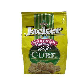 Jacker傑可牛奶威化酥200g