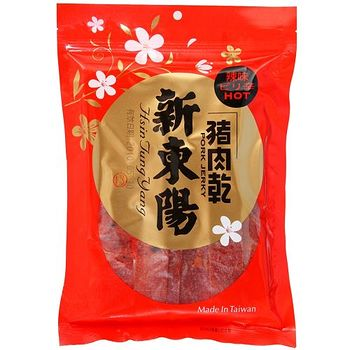 新東陽辣味豬肉乾125g