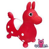 【QQMa】ST快樂寶貝充氣跳跳馬(紅)