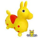 【QQMa】ST快樂寶貝充氣跳跳馬(黃)