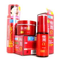 ROHTO 肌研 極潤 α (化妝水+乳霜+精華液) 滋潤組