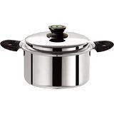 仙德曼 七層複合金湯鍋20cm