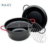 御膳坊多爐具使用4件式24公分油炸鍋組(K167-03)