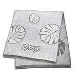 【竹炭日用品任選】LACOYA 竹炭提花毛巾(CP964)