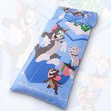 【湯姆貓與傑利鼠-歡樂藍】兒童睡袋組
