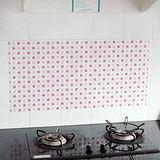 熱銷日本-廚房防污貼紙磁磚貼紙隔油紙(5入)