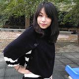 【Lus.G】首爾街頭鈕扣型厚披肩圍巾共3色-時尚黑AMT-38
