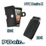 HTC Desire Z A7272 T-Mobile G2 專用PDair高質感腰掛手機皮套