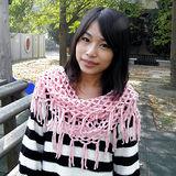 【Lus.G】韓風暖色系針織網格泂脖圍款共4色-粉AMT-50
