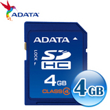 A-Data威剛 4G SDHC(CL4) 記憶卡