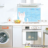 DECOIN多功能壁飾貼片-快樂貓咪1入(AL11)
