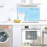 DECOIN多功能壁飾貼片-快樂貓咪2入(AL11)
