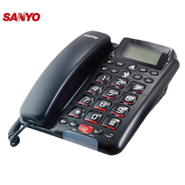 SANYO TEL-011 全免持擴音對講有線電話機