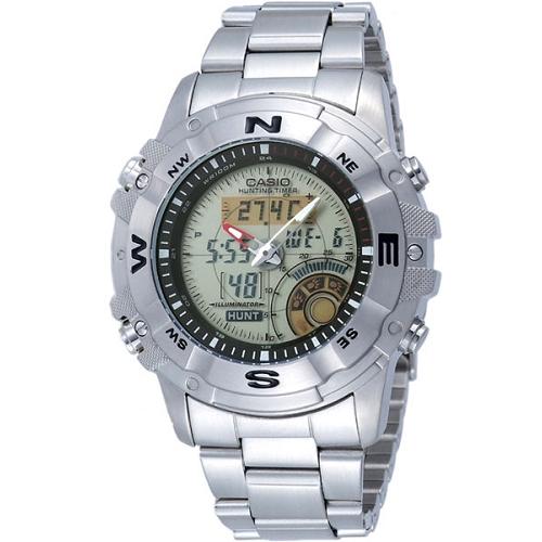 CASIO 多功能戶外專業雙顯錶(鍊帶)