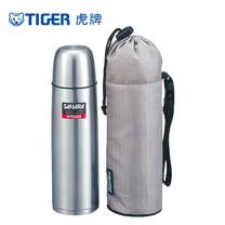 【TIGER虎牌】500cc不鏽鋼保溫保冷瓶_附專用外袋(MSH-B050)