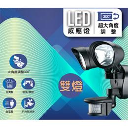 Max Star-LED感應燈/插電式(雙燈)