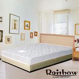 Rb-極簡風格獨立筒(白橡)床組-雙人