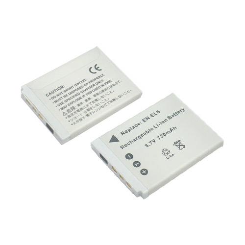 《ROWA‧JAPAN》Nikon數位相機專用充電式鋰電池EN-EL8 - 加送12片裝記憶卡專用保存盒