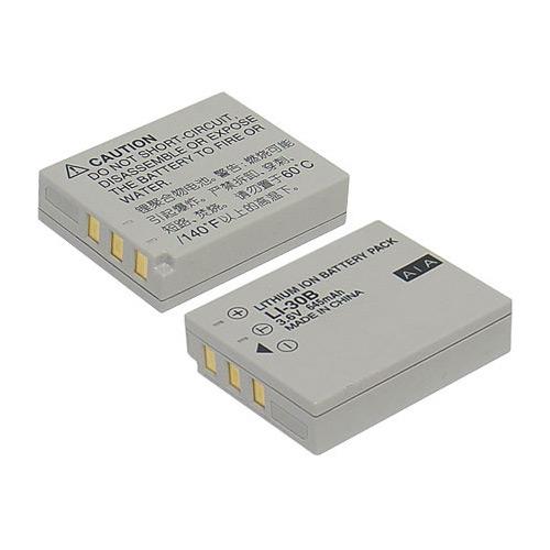 《ROWA‧JAPAN》OLYMPUS 數位相機專用充電式鋰電池LI-30B - 加送12片裝記憶卡專用保存盒
