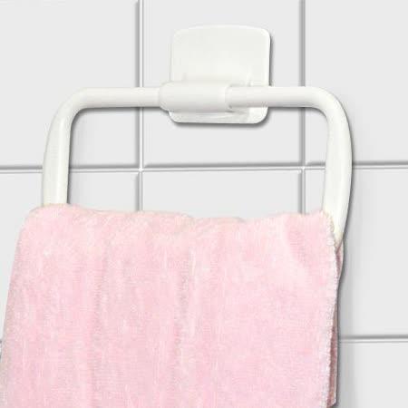 (任選收納299)Wally Fun 黏貼式毛巾架2入★採用3M背膠★ NO.802