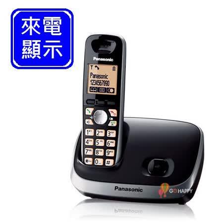 Panasonic ECO節能數位無線電話 KX-TG6511 (經典黑)
