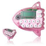 可愛曼波魚造型數位計時器-粉紅色