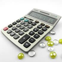 【CASIO】卡西歐(神算)金融稅額計算機AEE-DM1200MS