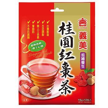 義美桂圓紅棗茶10g*18入/袋