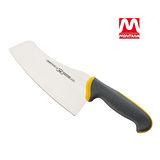 MONTANA不鏽鋼多功能菜刀-黃灰色刀身